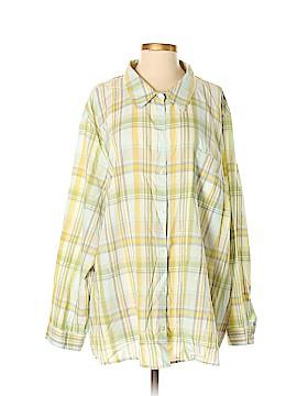 Merona Long Sleeve Button-Down Shirt Size 4