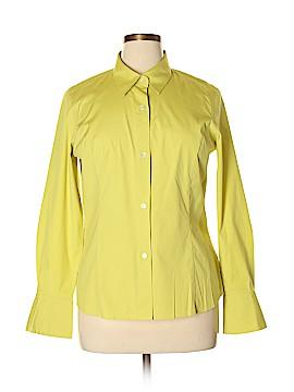 Liz Claiborne Long Sleeve Button-Down Shirt Size 14