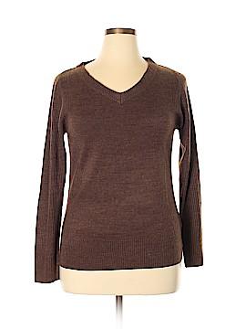 Carol Rose Pullover Sweater Size L