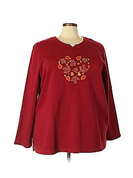 Liz & Me Sweatshirt Size 3X (Plus)