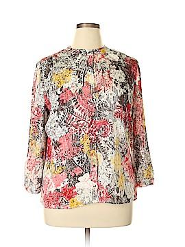 Liz Claiborne 3/4 Sleeve Blouse Size XL (Petite)