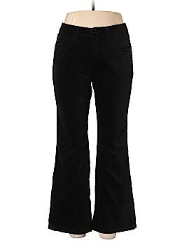 Jag Velour Pants Size 14 (Petite)