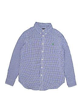 Ralph Lauren Long Sleeve Button-Down Shirt Size 10 - 12