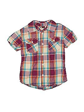 Tea Short Sleeve Button-Down Shirt Size 6