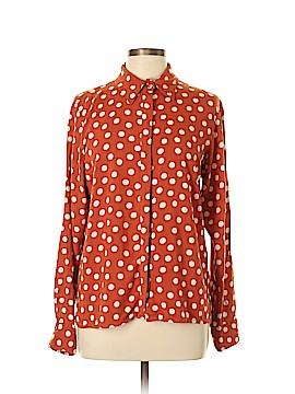 ASOS Long Sleeve Button-Down Shirt Size 10