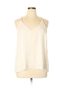Lou & Grey Sleeveless Blouse Size XL