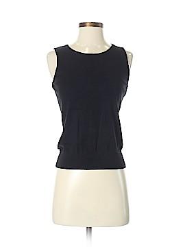 August Silk Sweater Vest Size S