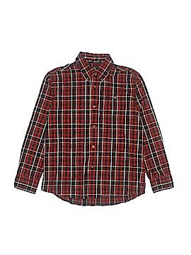 Wrangler Jeans Co Long Sleeve Button-Down Shirt Size L (Kids)