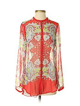 Yoana Baraschi Long Sleeve Blouse Size S