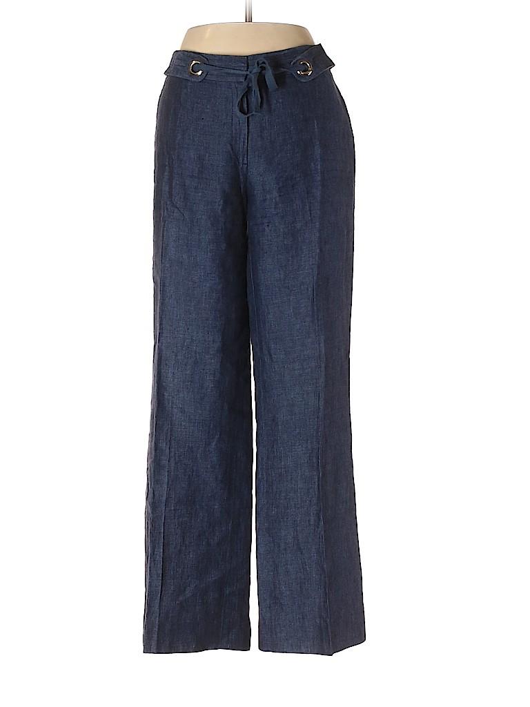 Lafayette 148 New York Women Linen Pants Size 6