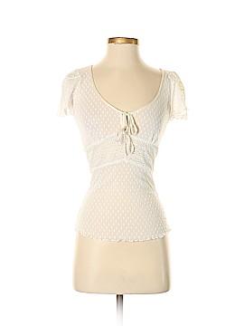 Betsey Johnson Short Sleeve Top Size P