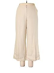 Sigrid Olsen Women Linen Pants Size 14