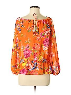 Chaps Long Sleeve Blouse Size M