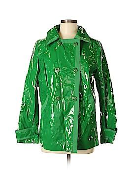 New York & Company Raincoat Size M