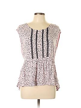 LC Lauren Conrad Short Sleeve Top Size L