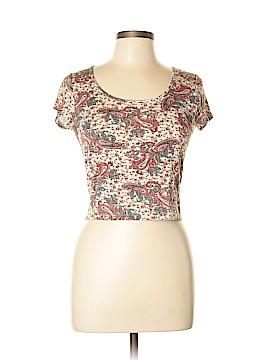 American Rag Cie Short Sleeve Top Size L