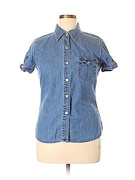 Gap Short Sleeve Button-Down Shirt Size XL
