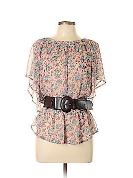 FANG Short Sleeve Blouse Size XL
