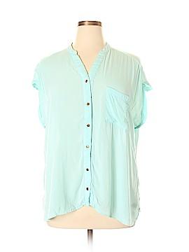 Dorothy Perkins Short Sleeve Blouse Size 20 (UK)