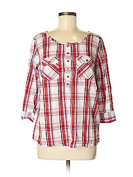 Venus 3/4 Sleeve Button-Down Shirt Size 8