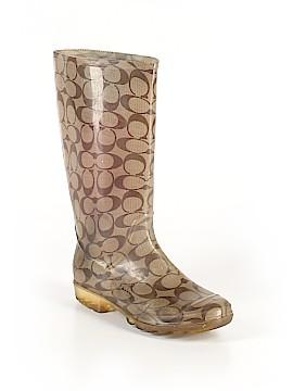Coach Rain Boots Size 5