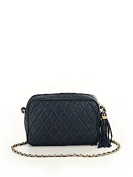 Neiman Marcus Leather Crossbody Bag One Size