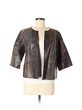 Lafayette 148 New York Leather Jacket Size 6