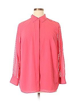 Talbots Long Sleeve Blouse Size 1X (Plus)
