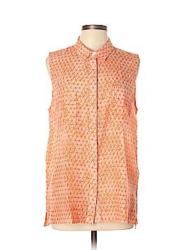 Gap Sleeveless Button-Down Shirt Size L