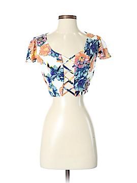 NBD Short Sleeve Blouse Size S
