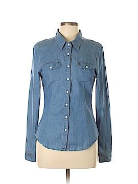 Ali & Kris Long Sleeve Button-Down Shirt Size L