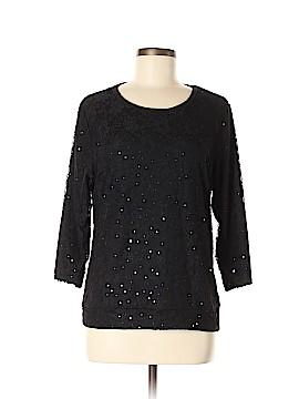 Cathy Daniels 3/4 Sleeve Top Size M