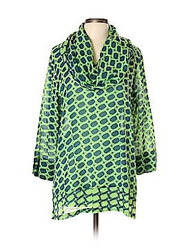 Gretchen Scott Designs 3/4 Sleeve Blouse Size XL