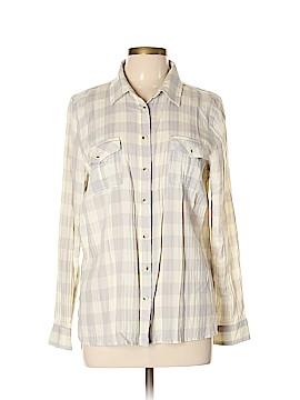 SO Long Sleeve Button-Down Shirt Size L