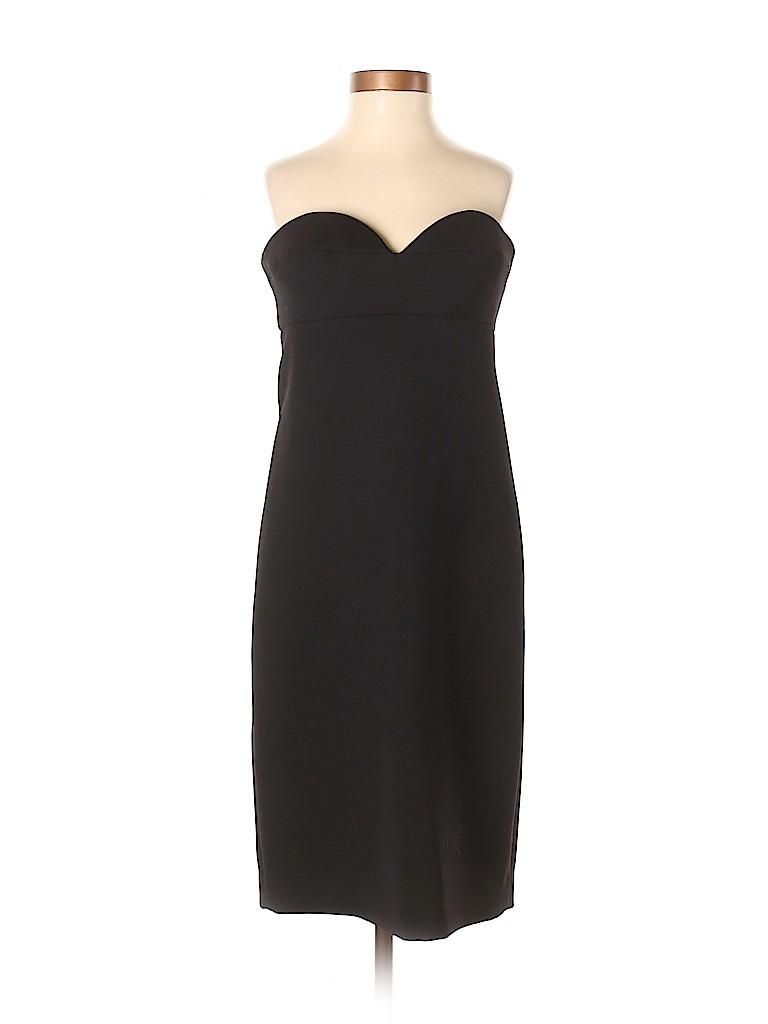 Size 100 Dress Wool 75 Prada it Black 40 Virgin Solid Cocktail pTx0Bnq