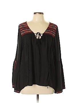 Billabong Long Sleeve Blouse Size L