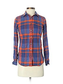 J. Crew Factory Store Long Sleeve Button-Down Shirt Size XS (Petite)
