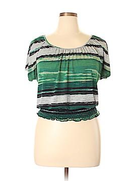 Lavish Short Sleeve Top Size L