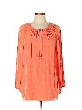 Susan Graver 3/4 Sleeve Blouse Size 12