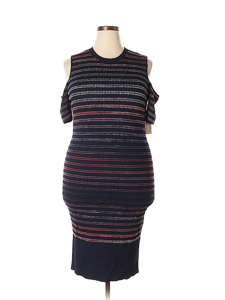 RACHEL Rachel Roy Women Casual Dress Size 0X (Plus)
