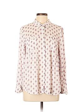 Style&Co Long Sleeve Button-Down Shirt Size L (Petite)