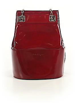 Salvatore Ferragamo Leather Bucket Bag One Size