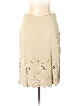 Banana Republic Leather Skirt Size 2 (Petite)