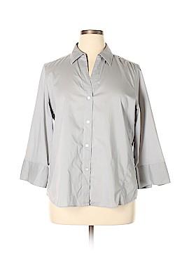 Foxcroft Long Sleeve Button-Down Shirt Size XL