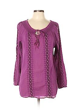 Nine West Vintage America Long Sleeve Blouse Size XL