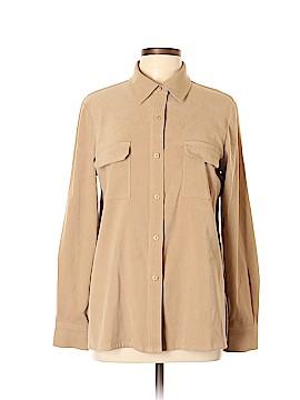 Allison Taylor Long Sleeve Button-Down Shirt Size L