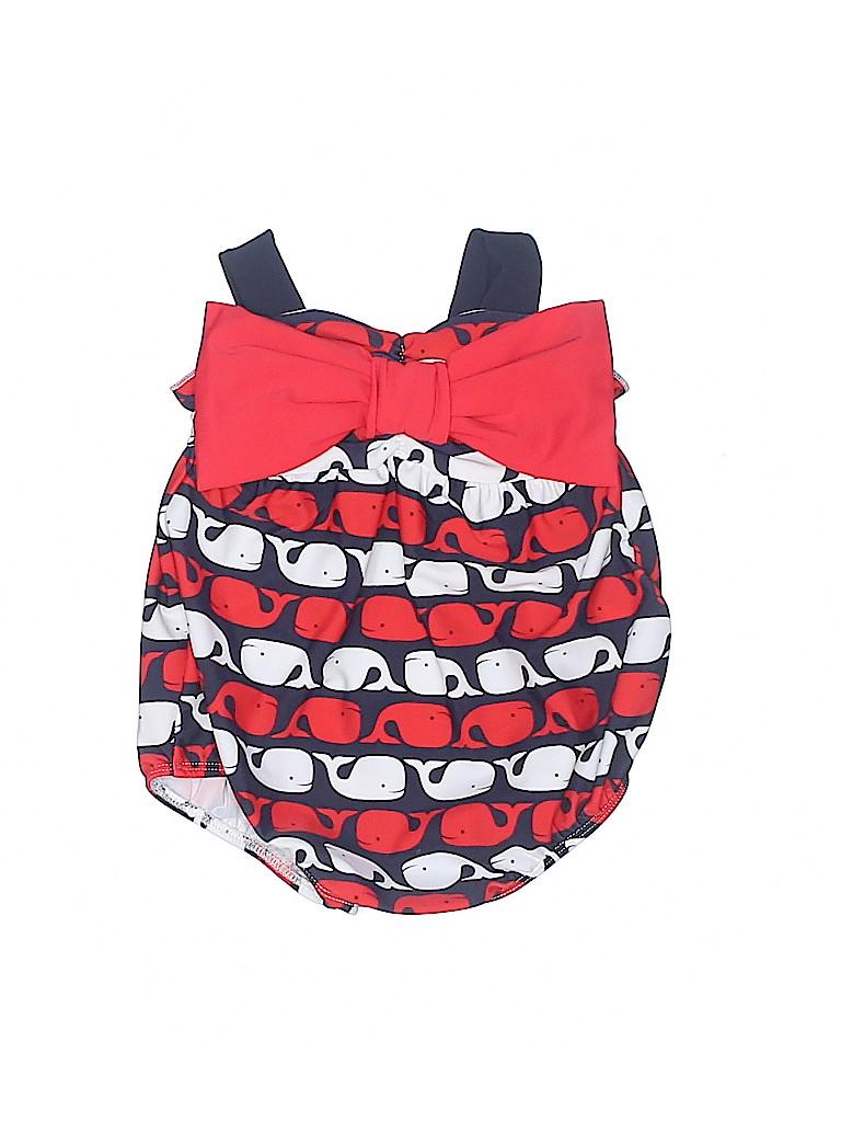 144da27223 Mud Pie Print Red One Piece Swimsuit Size 6-9 mo - 45% off | thredUP