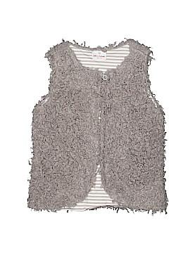 Hanna Andersson Faux Fur Vest Size 130 (CM)