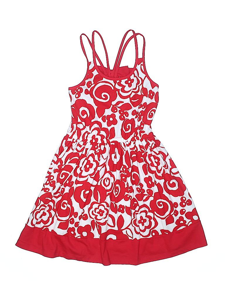 fe4a70e62 Gymboree 100% Cotton Floral Red Dress Size 10 - 91% off | thredUP