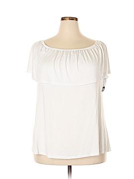 ING Short Sleeve Top Size 2X (Plus)
